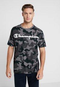 Champion - CREWNECK - Triko spotiskem - grey - 0