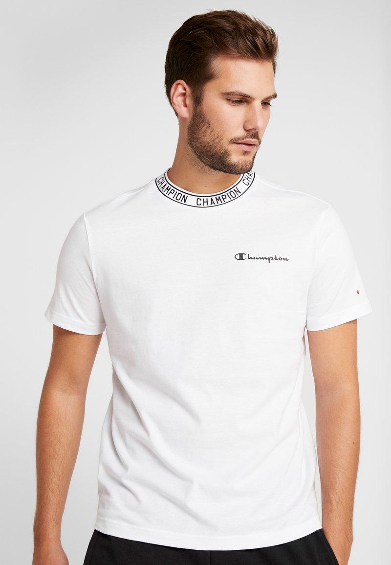 Champion - CREWNECK  - T-shirt imprimé - white