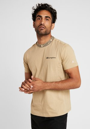 CREWNECK  - T-shirt print - tan