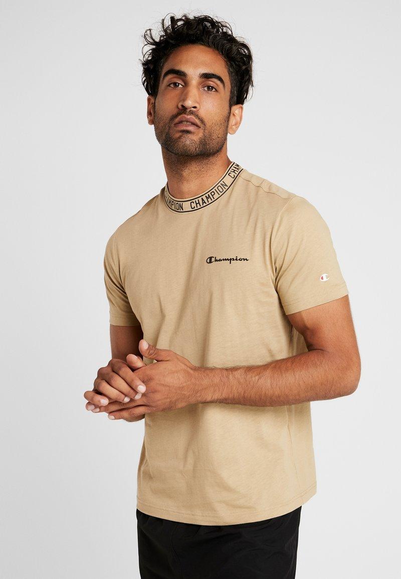 Champion - CREWNECK  - Print T-shirt - tan