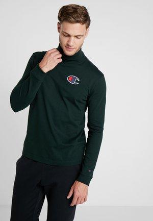TURTLE NECK - Långärmad tröja - dark green