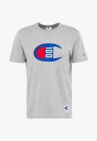 Champion - TEE 100TH ANNIVERSARY - Camiseta estampada - grey - 5