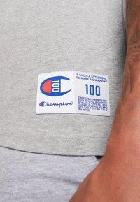 Champion - TEE 100TH ANNIVERSARY - Camiseta estampada - grey - 6