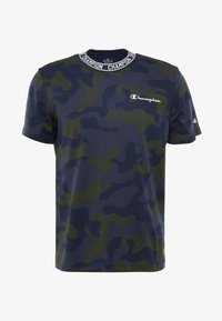Champion - CREWNECK - T-shirt con stampa - olive - 3