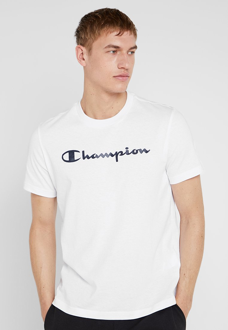 Champion - CREWNECK - T-Shirt print - white