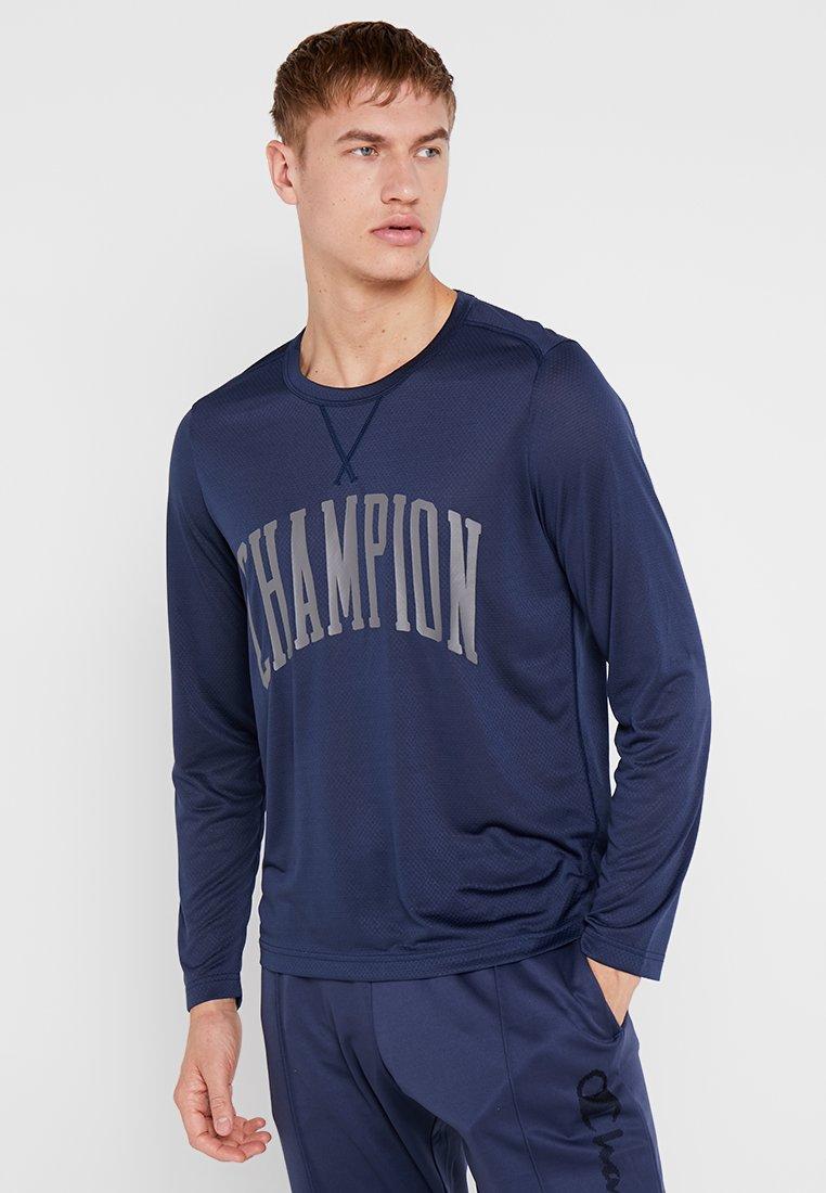 Champion - LONG SLEEVE - Bluzka z długim rękawem - dark blue