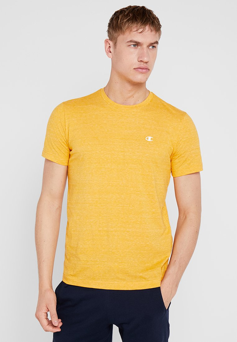 Champion - CREWNECK - T-shirt basic - yellow