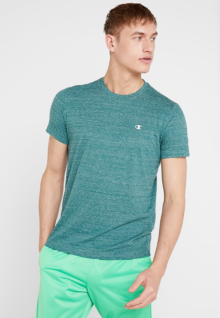 Champion - CREWNECK - T-Shirt basic - dark green