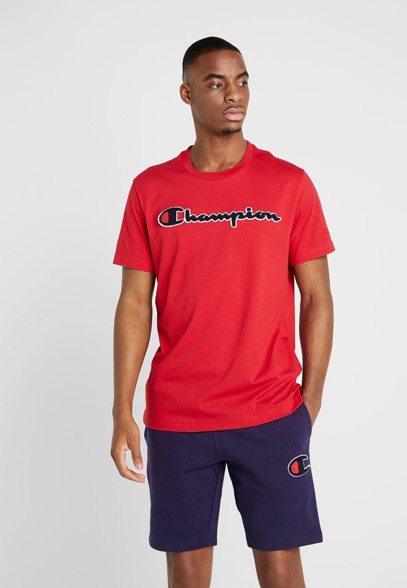 Champion - ROCHESTER CREWNECK - T-shirt imprimé - rio red
