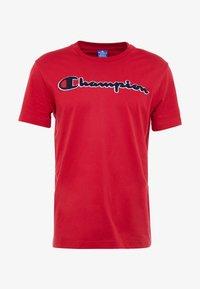 Champion - ROCHESTER CREWNECK - T-shirt imprimé - rio red - 3