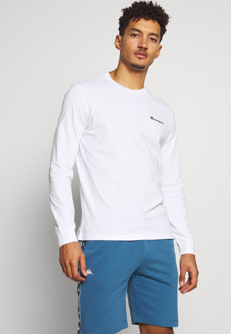 Champion - LONG SLEEVE - Long sleeved top - white