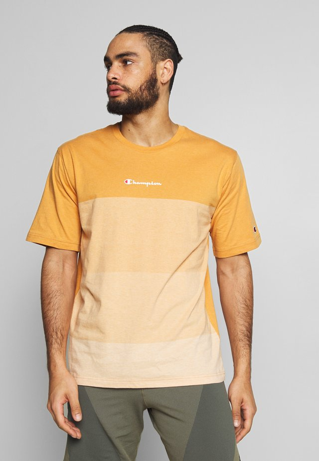 ROCHESTER ECO SOUL - T-shirt imprimé - mustard yellow