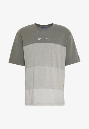 ROCHESTER ECO SOUL - T-shirt imprimé - green/grey