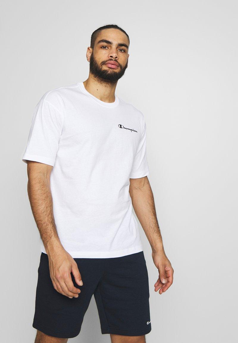 Champion - CREWNECK - T-shirt con stampa - white