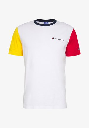ROCHESTER TEAM  - T-shirt z nadrukiem - white