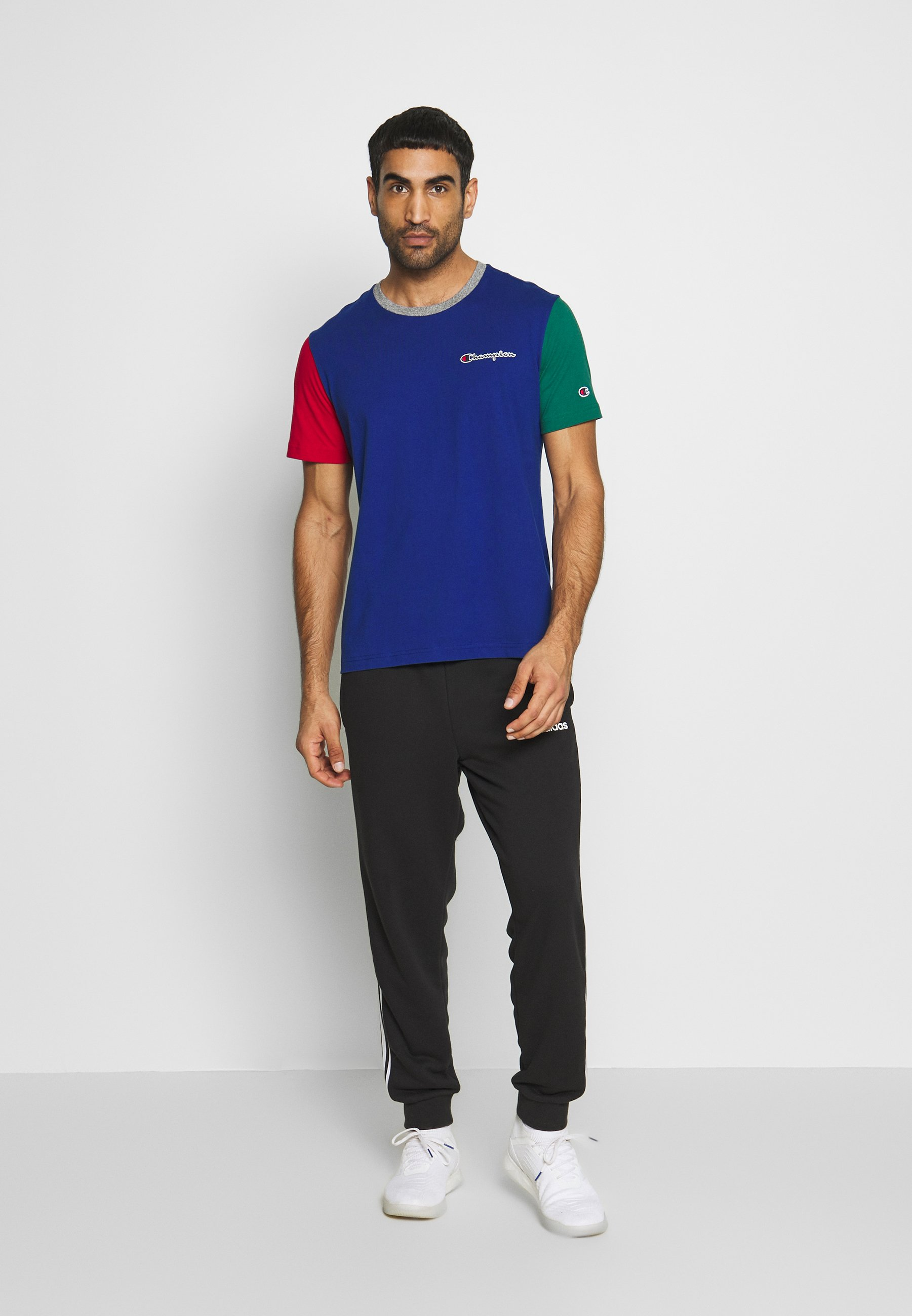 Champion ROCHESTER TEAM - T-shirt z nadrukiem - dark blue