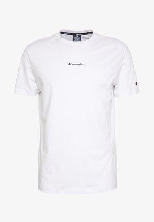 TIRE CREWNECK - Print T-shirt - white