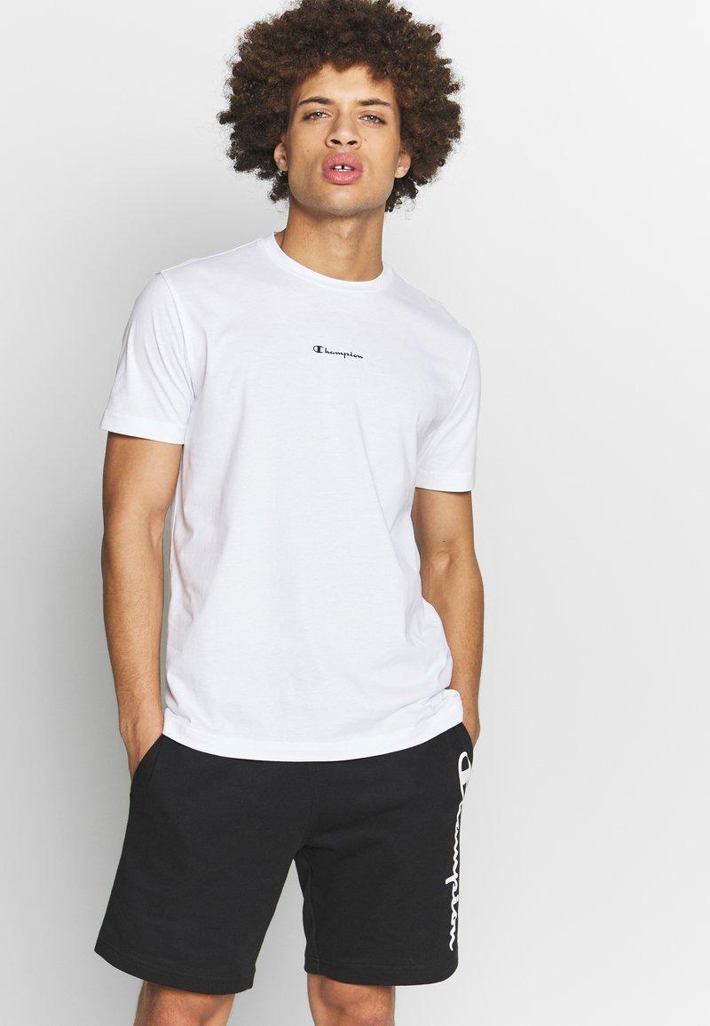Champion - TIRE CREWNECK - T-shirt con stampa - white