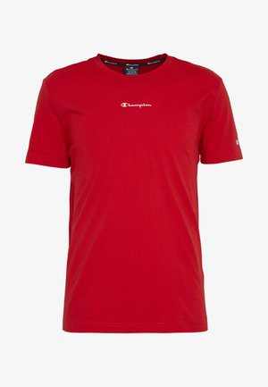 TIRE CREWNECK - T-Shirt print - dark red