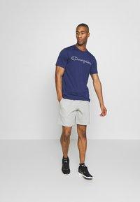 Champion - QUIK DRY  - Camiseta estampada - dark blue - 1