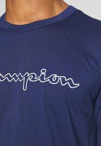 Champion - QUIK DRY  - Camiseta estampada - dark blue - 4