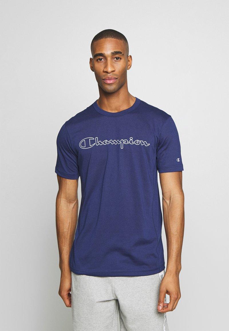 Champion - QUIK DRY  - Camiseta estampada - dark blue