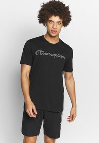 Champion - QUIK DRY  - T-shirts print - black - 0