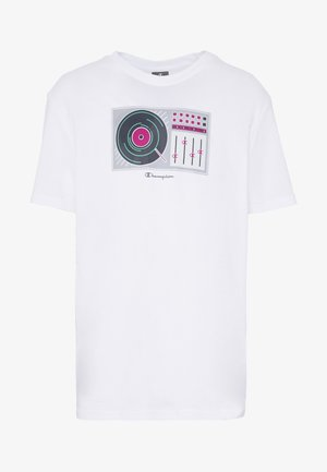 TURNTABLE CREWNECK - T-shirt con stampa - white
