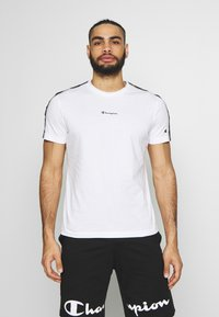 Champion - CREWNECK - T-shirt imprimé - white - 0