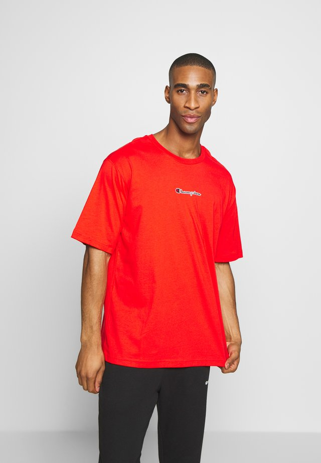 ROCHESTER CREWNECK - Basic T-shirt - red