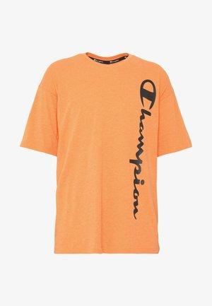 CREWNECK - T-shirt print - orange