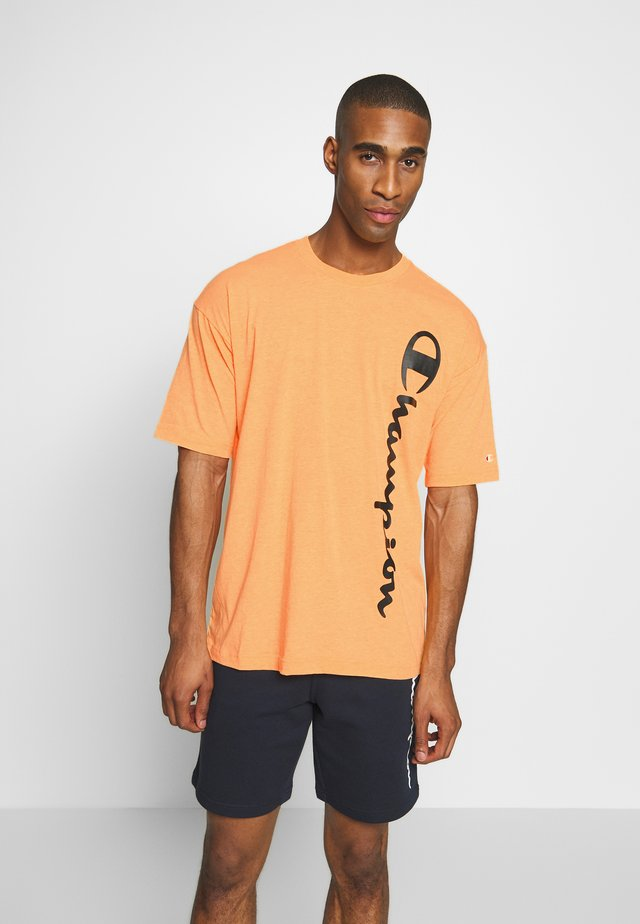 CREWNECK - T-shirt med print - orange