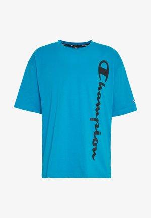 CREWNECK - Print T-shirt - neon blue