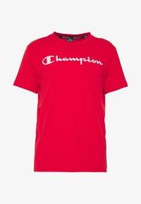 Champion - CREWNECK  - T-Shirt print - red - 3