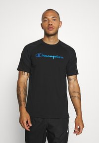 Champion - GET ON TRACK - Camiseta estampada - black - 0