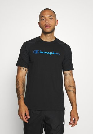 GET ON TRACK - T-shirt con stampa - black