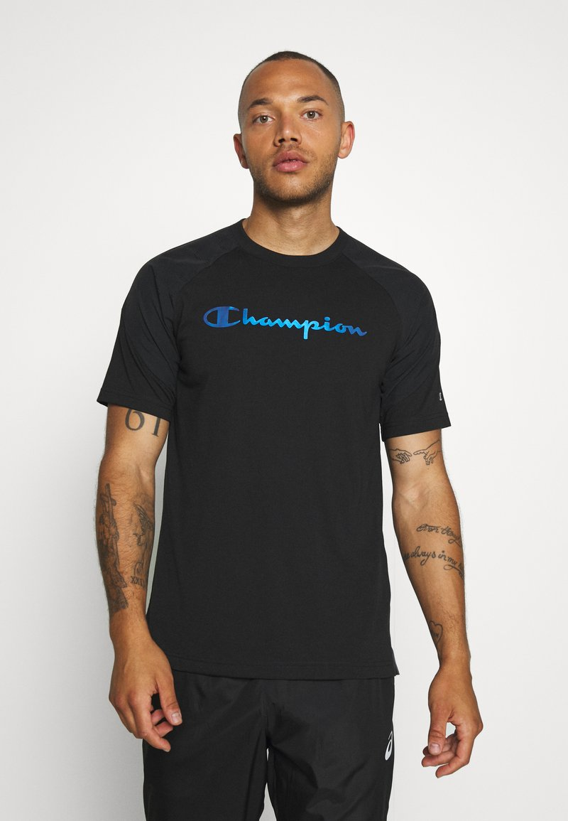 Champion - GET ON TRACK - Camiseta estampada - black
