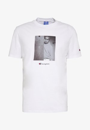 ROCHESTER THEME CREWNECK  - T-shirt z nadrukiem - white
