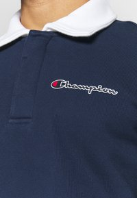 Champion - ROCHESTER TEAM STRIPES - Polo - navy/white - 4