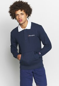 Champion - ROCHESTER TEAM STRIPES - Polo - navy/white - 0