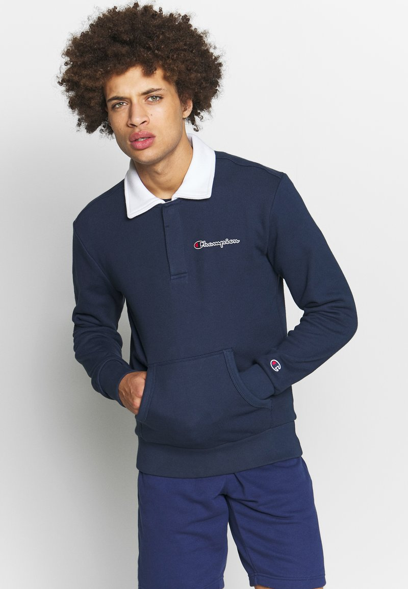 Champion - ROCHESTER TEAM STRIPES - Polo - navy/white
