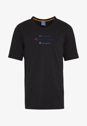 ROCHESTER WORKWEAR CREWNECK  - T-shirt imprimé - black
