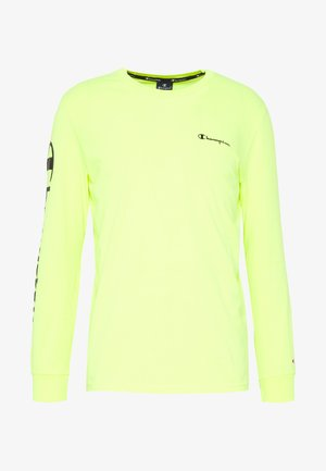 LONG SLEEVE CREWNECK - Camiseta de manga larga - neon yellow