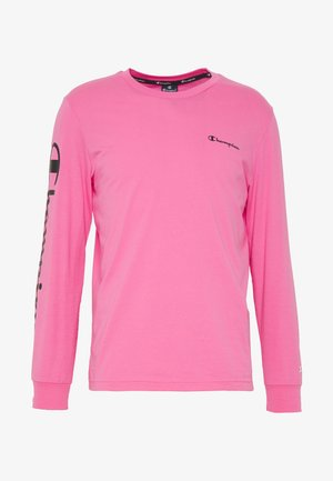 LONG SLEEVE CREWNECK - Camiseta de manga larga - pink