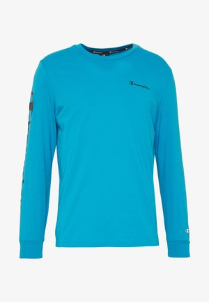 LONG SLEEVE CREWNECK - Langærmede T-shirts - neon blue