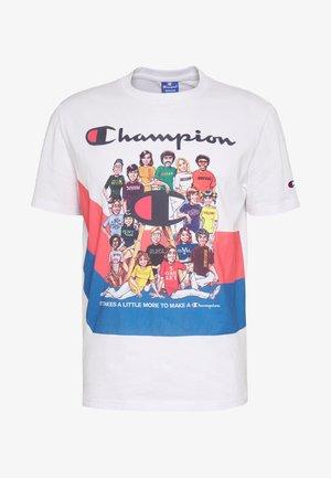 ROCHESTER GRAPHIC CREWNECK - T-shirt print - white