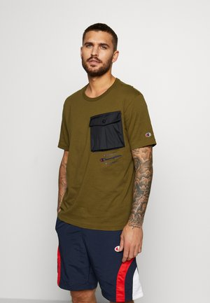 ROCHESTER WORKWEAR CREWNECK  - T-shirt print - olive