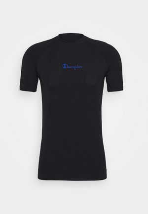 SEAMLESS - T-Shirt basic - black