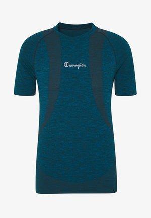 SEAMLESS - T-shirts med print - neon blue