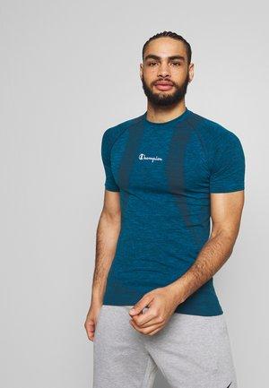 SEAMLESS - Print T-shirt - neon blue
